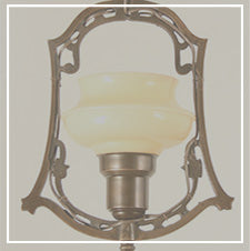 antique and vintage hall lighting