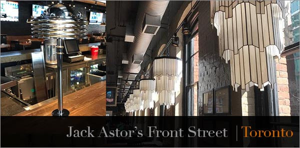 jack astors custom art deco lighting
