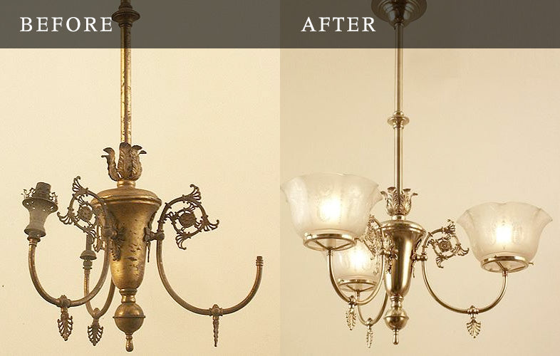 gas lighitng restoration