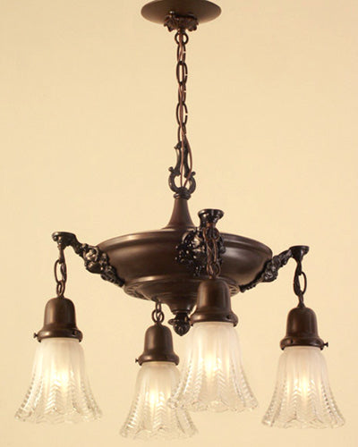 restored 1920s pan light