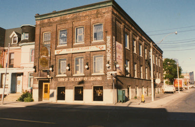 door store on sherbourne street toronto 1980s