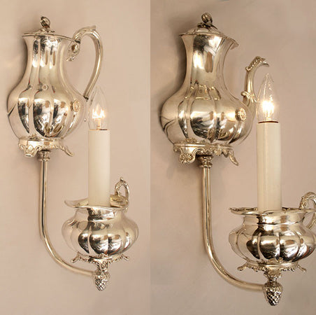 teapot wall lights