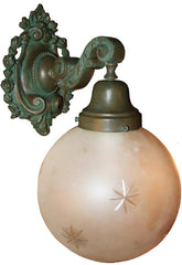 beaux arts wall sconce