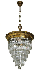 Empire Crystal Wedding Cake Chandelier