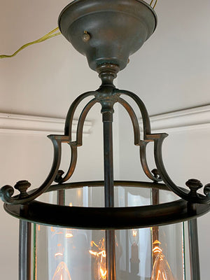 PAIR AVAILABLE - Circa 1940s Exterior Colonial Revival Lantern
