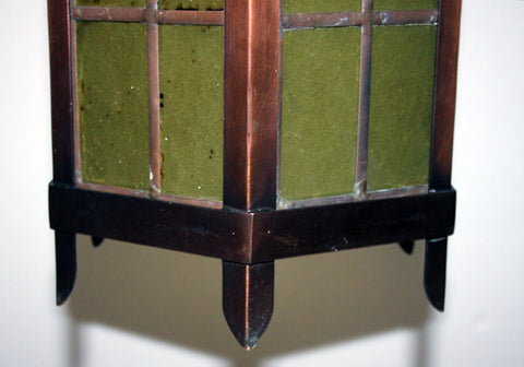 Antique Circa 1910 Gothic Revival Church Lantern