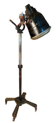 Amazing 1930s -40s Era Adjustable Industrial Floor Lamp