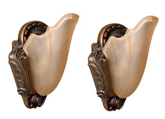 Art deco markel wall sconces
