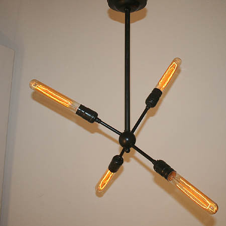 Jetson 4 Light Sputnik Fixture.