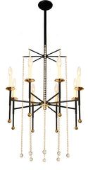 "Handcrafted ""TOMMI"" Eight Light Chandelier"