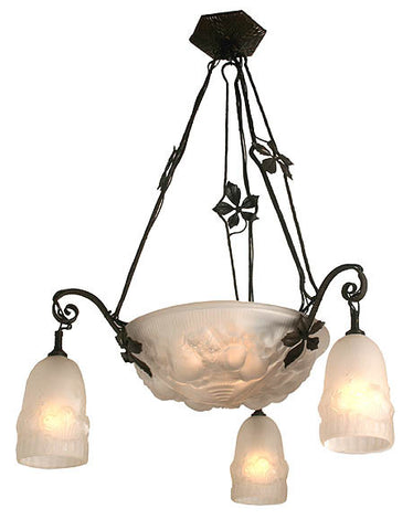 french art deco lighting