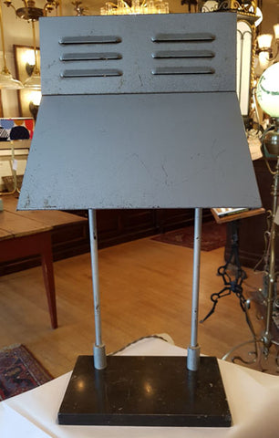 Vintage 1960s Single Light, Signed J.A. Wilson Display Table Lamp Made in Toronto.