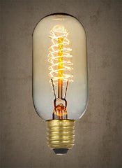 Edison Spiral Light Bulb - 40 watt