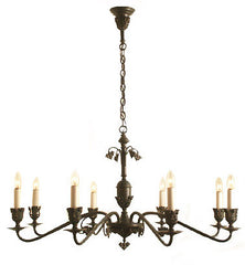Arden Chandelier - 8 Light Candle Style