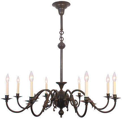 Mackenzie Chandelier - 8 Light Candle