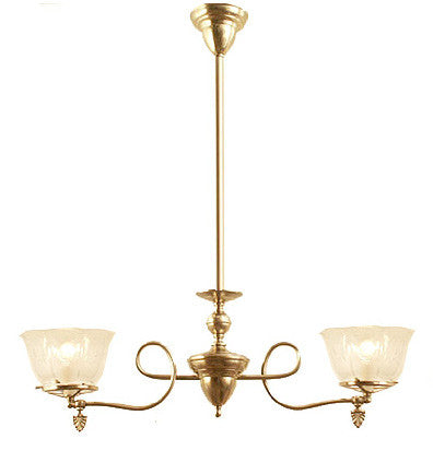 Winchester Chandelier - 2 Light Gas Style