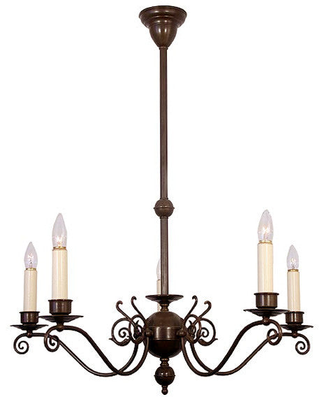 Windermere Chandelier - 5 Light Candle