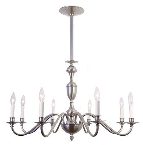 Regency Chandelier - 8 Light Candle