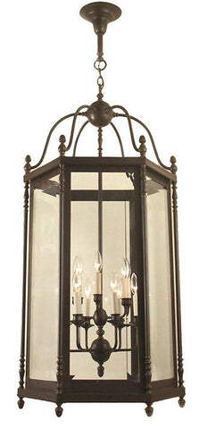 Georgian Exterior Lantern - 12 Light