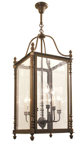 Canterbury Exterior Lantern - Large - 8 Light