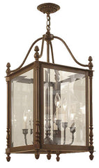 Canterbury Lantern - Small - 8 Light