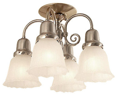 Berkeley Flush Mount - 4 Light
