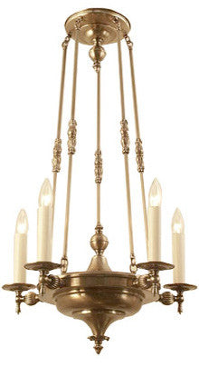 Wakefield Chandelier - 5 Light Candle