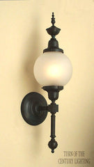 Essex with Post Exterior Wall Sconce