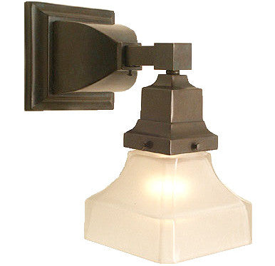 Mission Wall Sconce - Single Light