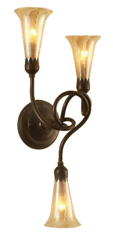 Tendril Wall Sconce - 3 Light