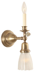 gas electric reproduction brass wall light made in canada