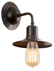 Edison industrial wall sconce made in canada by Turn of the Century Lighting