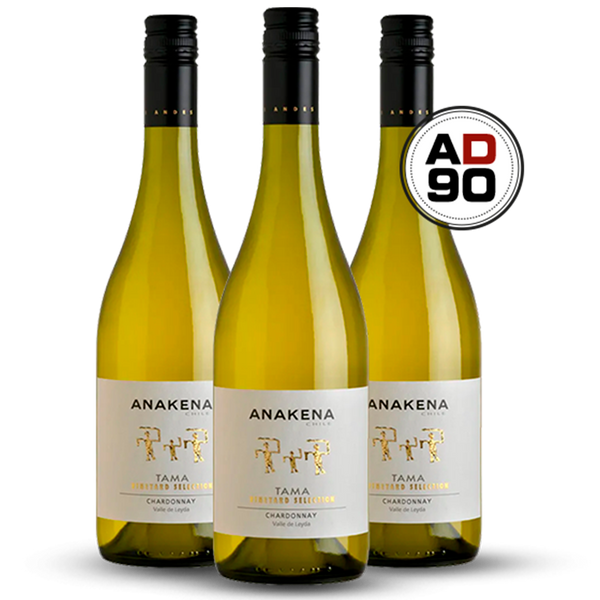 Anakena Tama Vineyard Selection Chardonnay 2017 - 15 anos ADEGA