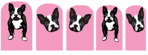 Dog Nail Polish Stickers
