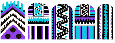 Tribal Nail Stickers