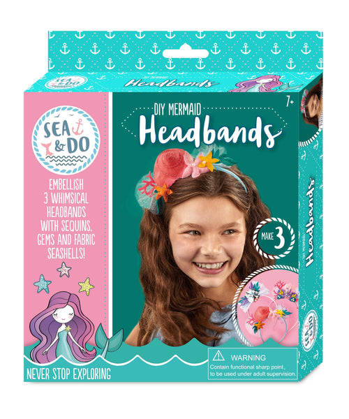 DIY Mermaid Headbands