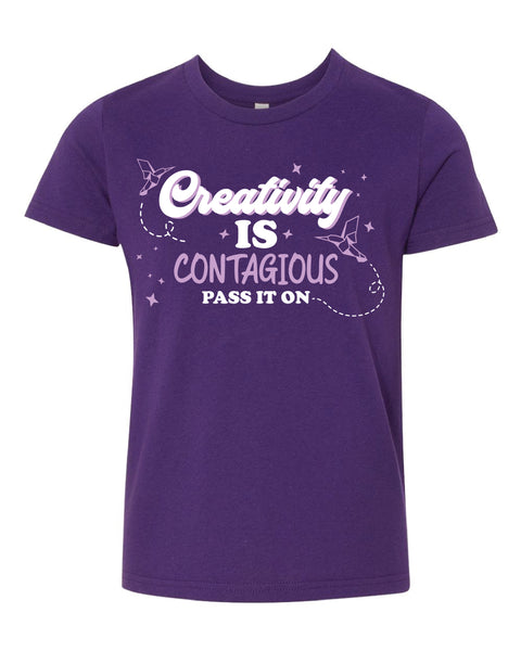 T-shirt - Creativity is Contagious