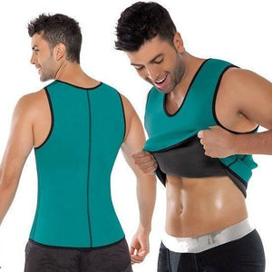 Green Men Slimming Vest Body Shaper/Abdomen