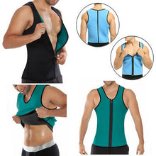 Charger l'image dans la galerie, Green Men Slimming Vest Body Shaper/Abdomen