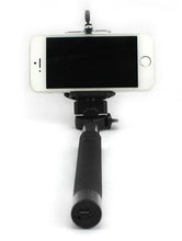 Charger l'image dans la galerie, WIRELESS SELFIE MONOPOD BLUETOOTH 4.0 BLACK (NOIR)