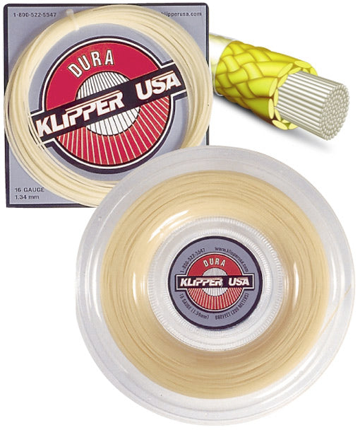 Dura 16 Racquet String - Klipper USA
