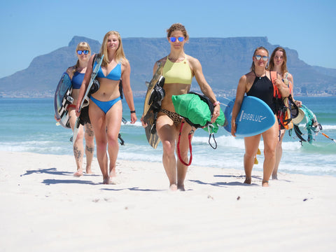 women's kiteboarding