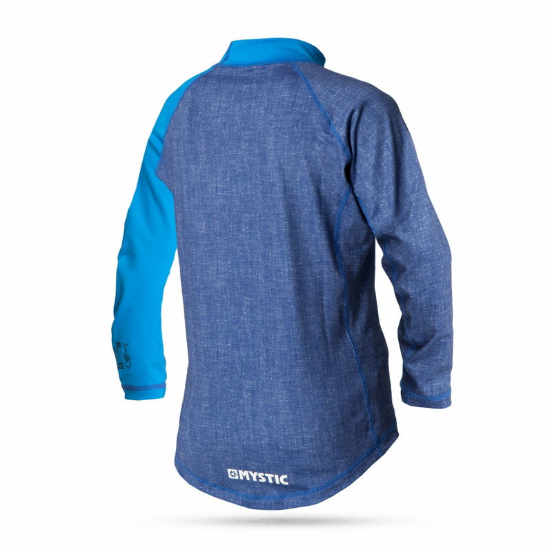 Lykra Star Rash Vest L/S Kids, Blue