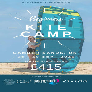 18th - 20th of September - BEGINNERS KITE CAMP & DEMO DAYS