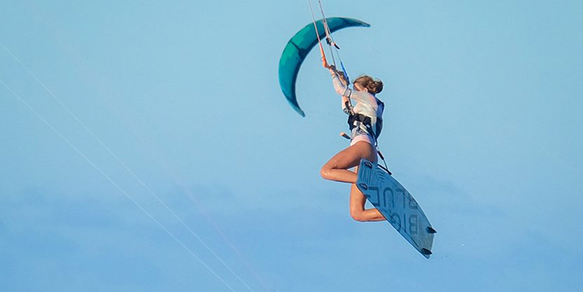 BIG BLUE KITEBOARDS - women's kiteboarding