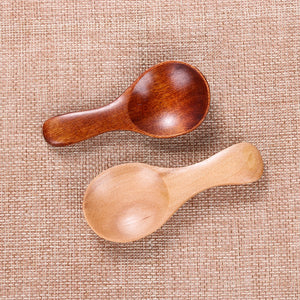 Wooden Condiment Scoop