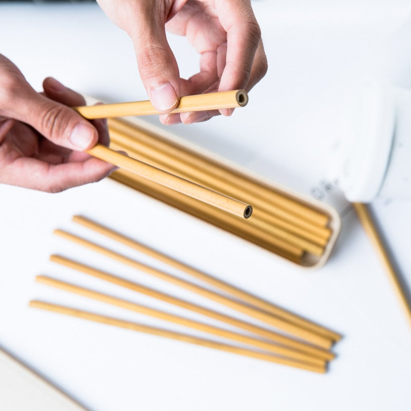 Reusable Organic Party Bamboo Straws