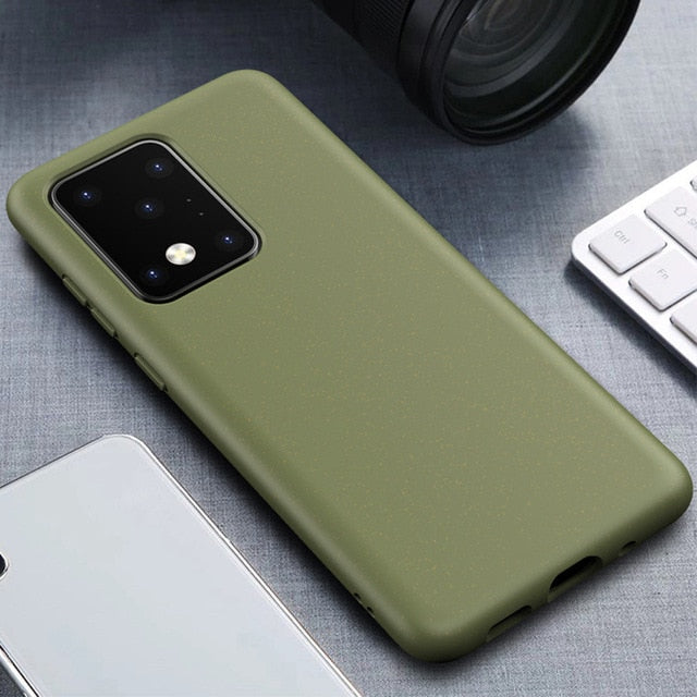 Wheat-Straw Eco-friendly Phone Case For Samsung S20 Plus/Ultra