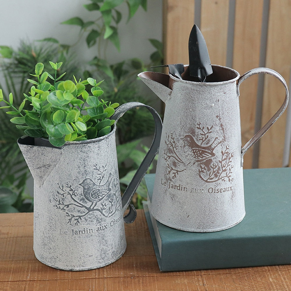 Vintage Home Decor Eco Friendly Iron Vase