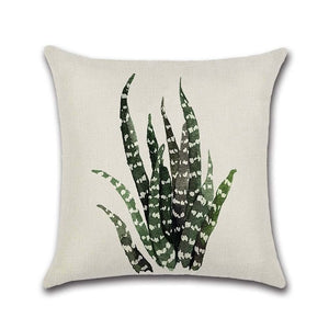 Green Leaves Pillow/Cushion Cover